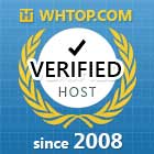 Scala Hosting is verified by whtop.com