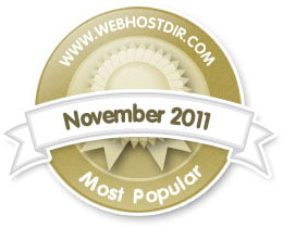 ScalaHosting in Top 25 Most Popular Hosting Providers