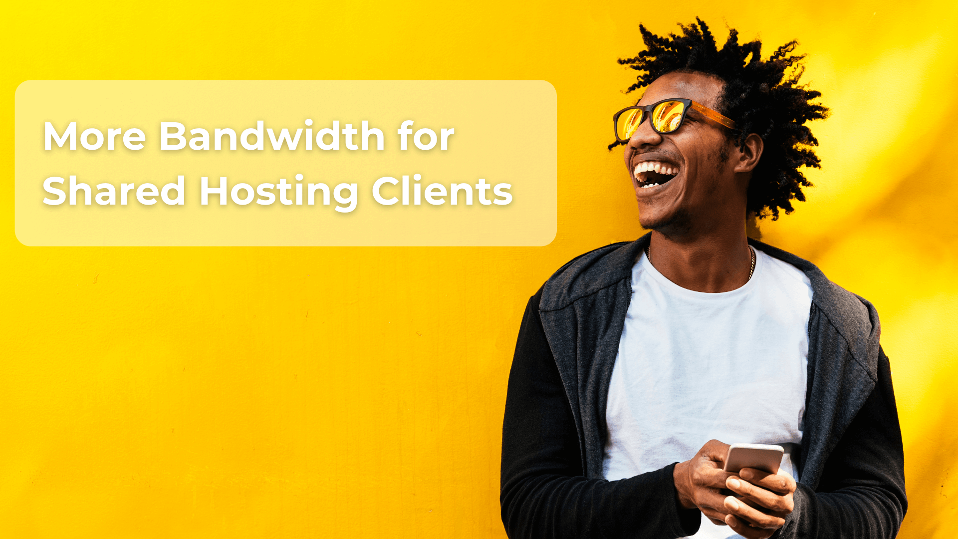 More Bandwidth for Shared Hosting Clients