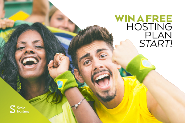 Win a Free Start! Plan With World Cup 2014 and ScalaHosting