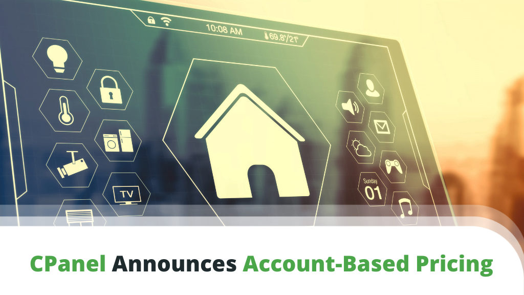 CPanel Announces Account Based Pricing