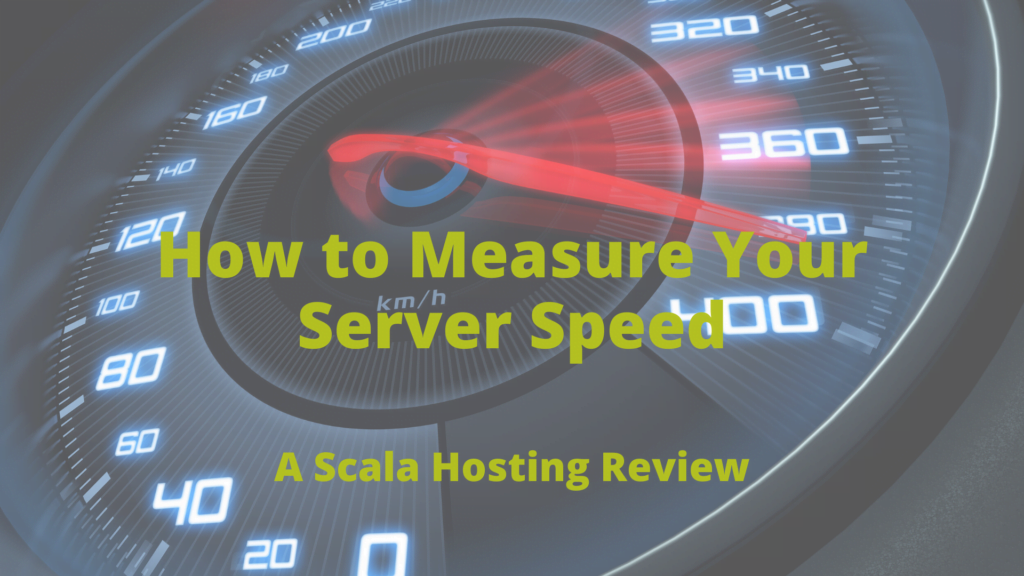 How to Check Web Hosting Server Speed?