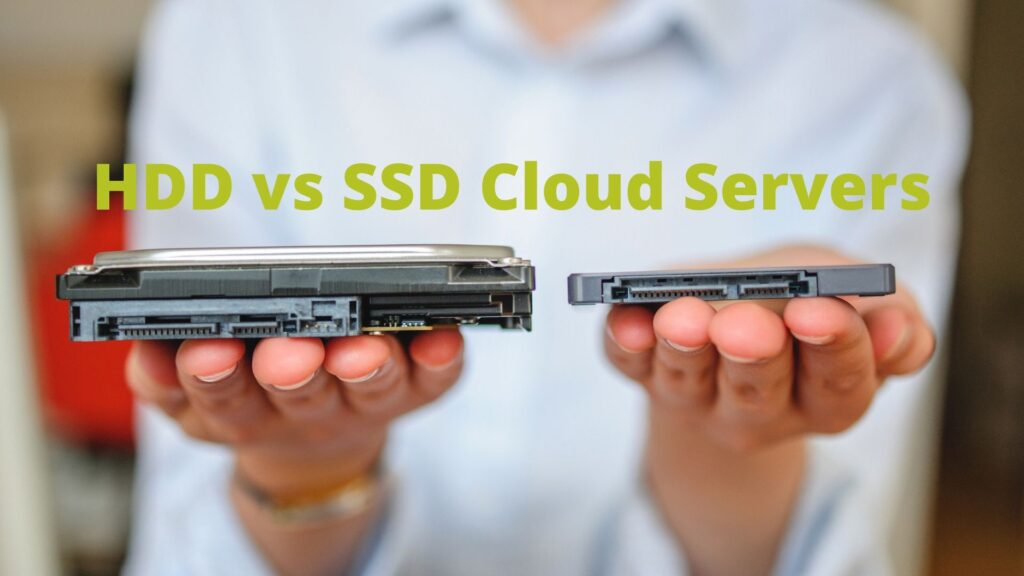 HDD vs SSD Cloud Server Hosting