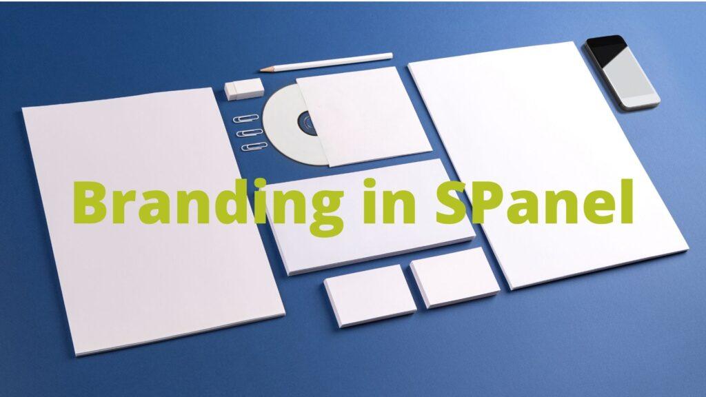 Branding in SPanel