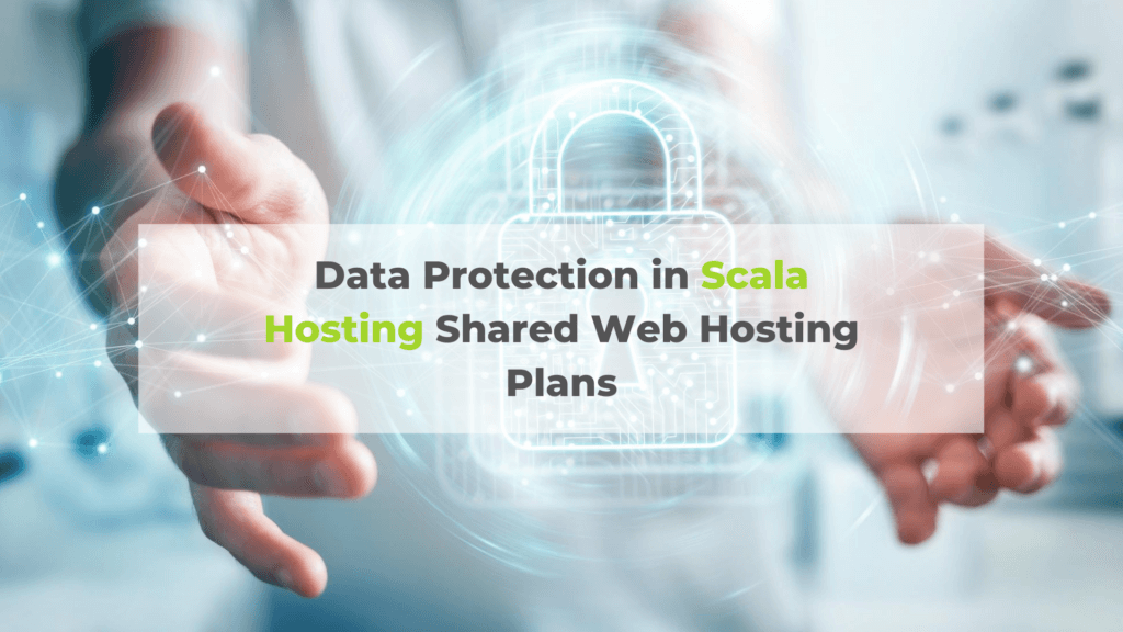 Data Protection in Scala Hosting Shared Web Hosting Plans
