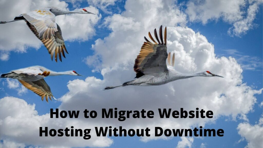 How to Migrate Website Hosting Without Downtime