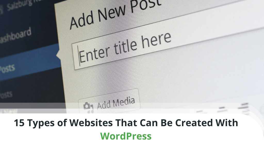 15 Types of WordPress Websites