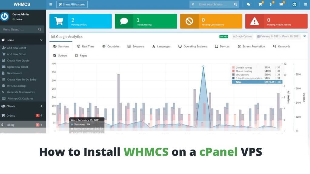 How to Install WHMCS on a cPanel VPS