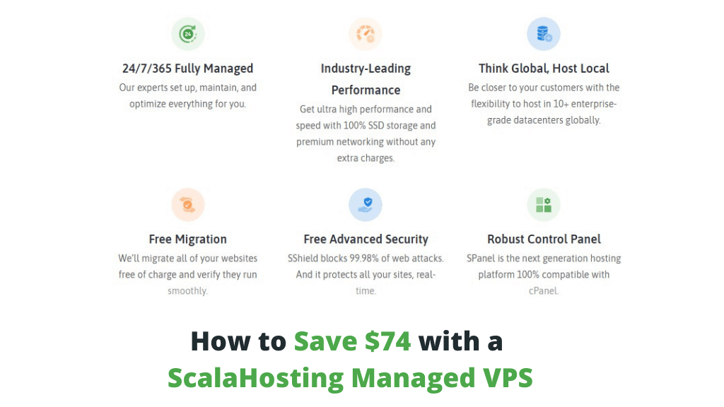 How to Save $74 with a ScalaHosting Managed VPS