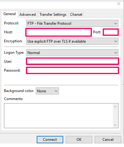 How To Setup FTP Using Filezilla