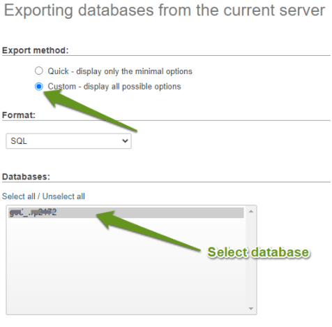 How to Import and Export a MySQL Database
