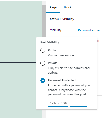 How to Password-protect WordPress Pages
