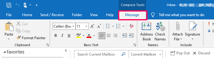 Add my Email Signature to Outlook for Windows