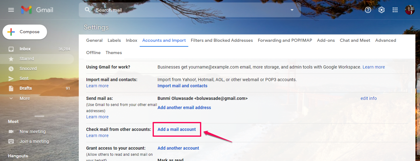 Use IMAP Settings to Add My Email Address to an Email Client