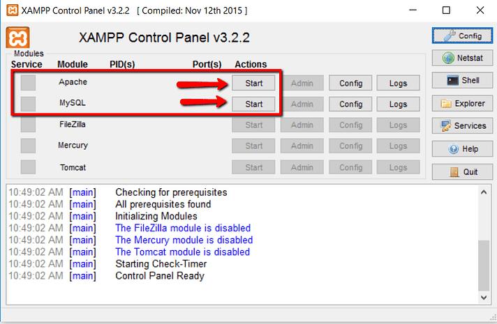 Install WordPress on Windows