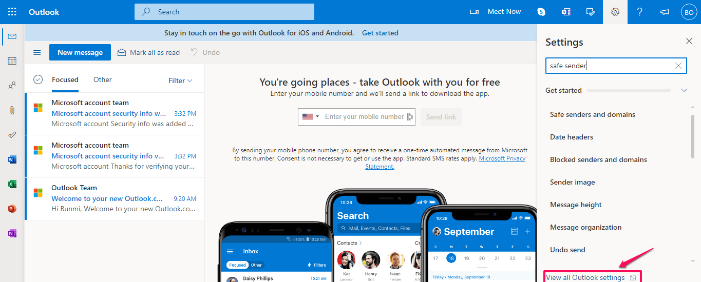 E-mail Messages Do Not Forward to Outlook.com (Hotmail) Accounts