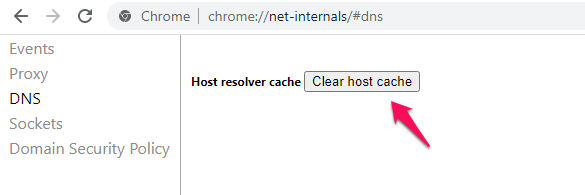 How to clear the DNS cache on your computer ?
