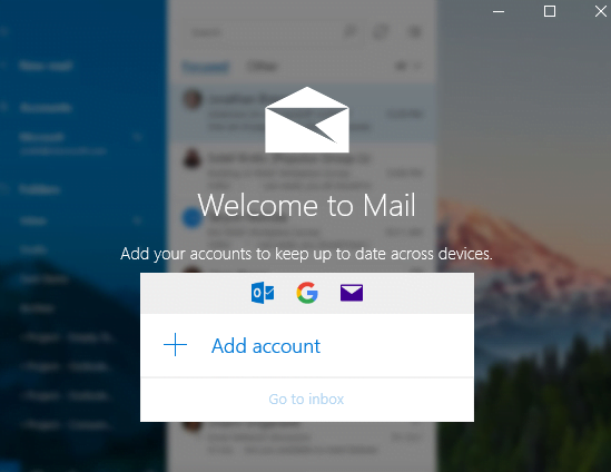 Add my Microsoft 365 email to Mail (Windows)