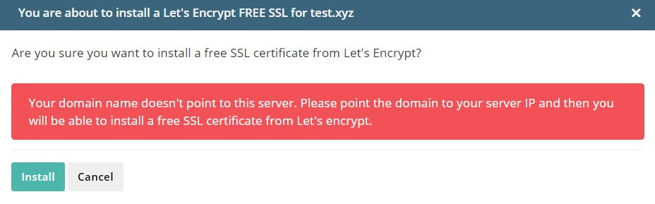 How to Get and Enable Your Free SSL Certificate