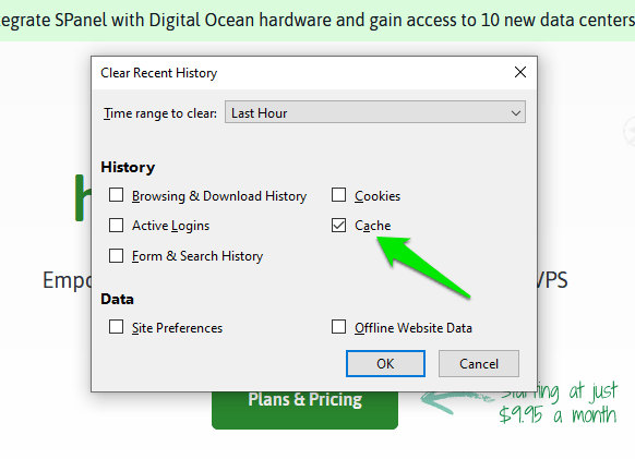 How to Clear the Cache in Firefox, Internet Explorer, Edge, Safari, Opera, and Chrome?