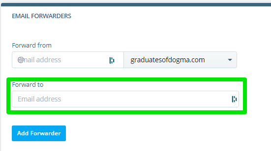 Set Up My Forwarding Email Address