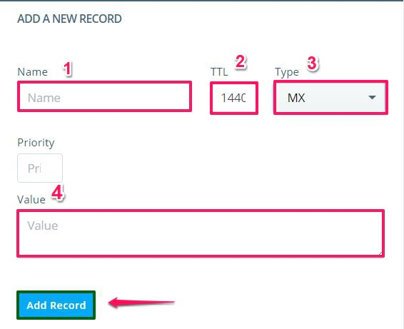 How to Change My MX Records