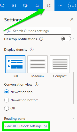 Add an Email Signature in Outlook on the Web